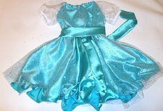 Elsa Princess Dress size 6 months - girls 12