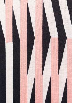 & Other Stories   Wavy Print Midi Dress.