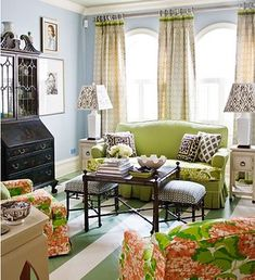 The living room is the main room with regards to decorating as well as allows that you should build the reasoning all through the home. Mixing furniture styles living room is the perfect starting point. Cottage Living, Home Living Room, Living Room Decor, Living Spaces, Cottage Style, Coastal Living, Living Room Inspiration, Home Decor Inspiration, Color Inspiration