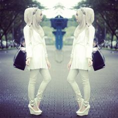 She is Indah Nada Puspita and I like his style ♥