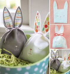 Bolsa conejo! | Manualidades Gratis