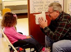 Members of the Freedom District Lions Club and the South Carroll Lioness-Lions Club screened 65 preschool students for vision problems.