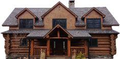 Custom Log Home Railings, Decks, Carpentry Services and Log Siding | High Country Restoration