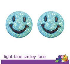 Hopeez™ Light Blue Smiley Face    $10.00