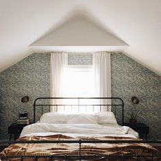 Iron Bed, HomeDecorators Collection :: Home Is Where the Hart Is Cozy Bedroom, Dream Bedroom, Bedroom Decor, Decoration, Living Spaces, Sweet Home, Interior Design, House Styles, Home Decor