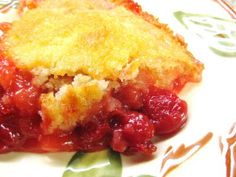 The Beehive Cottage: Cherry Cobbler~Farmgirl Style! #bloggerbrigade