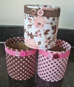 ideas diy recycled art projects tin cans Aluminum Can Crafts, Tin Can Crafts, Aluminum Cans, Diy Crafts To Sell, Home Crafts, Recycle Cans, Diy Cans, Diy Recycle, Recycled Art Projects