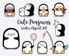 Hey, I found this really awesome Etsy listing at https://www.etsy.com/uk/listing/569475908/vector-clipart-kawaii-penguins-kawaii