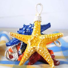 Exterior Starfish Decorations Which Is Made With Realistic Details Using High Quality Vinyl For Long Durability Starfish Decorations For Your Room