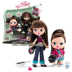 MGA Entertainment Bratz Kidz Sisterz Series 7 Inch Doll Set - KIANI with Purse, Toy, Hairpin, Hairclip Plus LILANI with Purse and Hairbrush