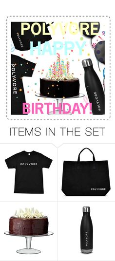 """""""Happy Holidays POLYVORE!"""" by pisces7 ❤ liked on Polyvore featuring art, contestentry and happybirthdaypolyvore"""