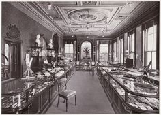 "Joseph Rodgers showroom at 6 Norfolk Street (taken from ""Under 5 Sovereigns – Joseph Rodgers & Sons Ltd, Sheffield, Cutlers to Their Majesties"")"
