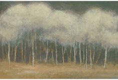 Kim Coulter, Quiet Moment II on OneKingsLane.com  A quiet, mysterious depiction of a landscape, with a view into a forest. This is a fine print by the artist Kim Coulter.    Coulter paints in a representational style, yet brings a contemporary sensibility to her work.