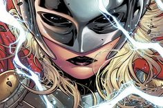 """""""Pull It Together: Rat Queens, Black Widow, and the Debuts of Gotham Academy and Thor, the Goddess of Thunder!"""" The Mary Sue Comic Book Characters, Marvel Characters, Marvel Movies, Comic Books, Thor 1, New Thor, Lady Thor, Marvel Now, Marvel Dc Comics"""