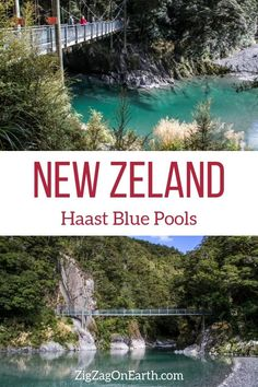 New Zealand Travel Guide – Discover the Haast Blue pools (with photos) | #newzealand | Things to do in New Zealand South Island | New Zealand photography | New Zealand Road Trip | New Zealand scenery | New Zealand travel tips | New Zealand itinerary | #Travel | Travel Inspiration | Scenery  Wanderlust | Best Travel destinations