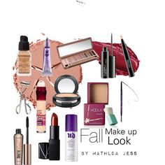 Fall make up look by mathildajess on Polyvore featuring polyvore, fashion, style, Givenchy, Charlotte Tilbury, Urban Decay, Benefit, NARS Cosmetics, MAC Cosmetics and Maybelline