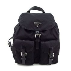 Prada Vela Black Backpack - Medium - $300