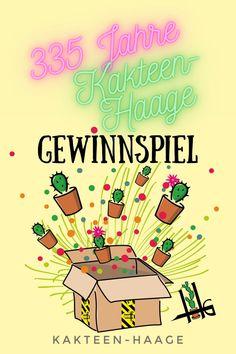 Die Haage Gärtner feiern in diesem Jahr 335 Jahre gärtnern in der #Blumenstadt #Erfurt. Statt der #Party gibt es 3 3 5 - also 11 #GewinnSpiele! Die Verlosungen finden auf #Facebook und #Instagram statt - alle Infos findet ihr auf der Website von Kakteen-Haage! #335Haage #KakteenHaage #HaageLife #Gärtner