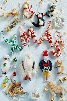Happy Cat Ornament - anthropologie.com