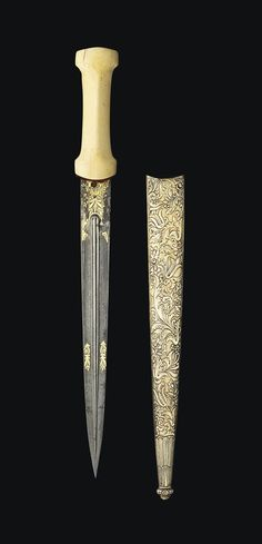 AN IVORY HILTED DAGGER (KARD) -  OTTOMAN TURKEY, 18TH CENTURY