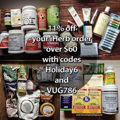 I love iHerb: Iherb discont codes 11% off and week offers