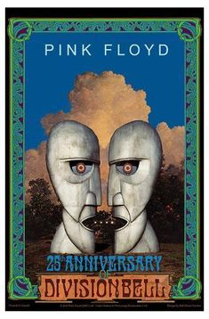 Art Print: Pink Floyd Anniversary of Division Bell album by Bob Masse : Tour Posters, Band Posters, Music Posters, Arte Pink Floyd, Pink Floyd Concert, Pink Floyd Poster, Queen Poster, Wall Art Wallpaper, Online Posters