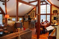 Barn Home Interiors | The Interior Paint Colors And Decor For Carriage House    Home Design