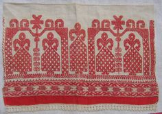storytelling on textiles from old russia Russian Embroidery, Folk Embroidery, Cross Stitch Embroidery, Embroidery Patterns, International Craft, Embroidered Towels, Textiles, Russian Folk, Cross Stitch Designs
