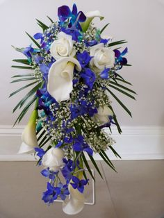 Blue Boquet