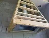 outdoor grill exhaust hood --could do this and clad it in shiplap like the wall