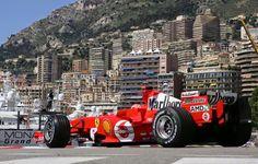 2005 GP Monaco (Michael Schumacher) Ferrari F2005