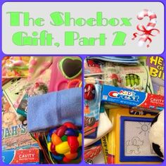 What to pack in an Operation Christmas Child Shoebox for boys and girls ages 2-4. #operationchristmaschild #shoebox #gifts