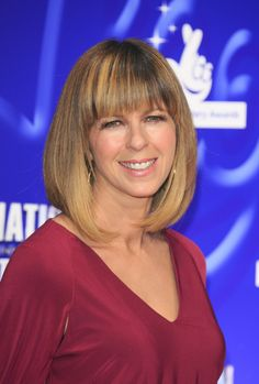 Kate Garraway attends the National Lottery Awards at Pinewood Studios on September 12, 2014 in Iver Heath, England.