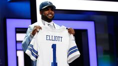 Ezekiel Elliott hasn't stepped foot onto an NFL field and already has made an impact, at least in merchandise sales. The Dallas Cowboys rookie running back has the No. 1 selling jersey since he was drafted fourth overall in April.