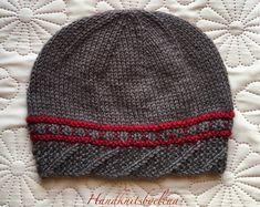 Knitting Pattern Hat Ksenia Instant Down - Diy Crafts - hadido Owl Knitting Pattern, Cable Knitting Patterns, Baby Knitting, Knitting Ideas, Crochet Men, Crochet Hats, Free Crochet, Elissa, Diy Crafts Knitting