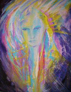 Soul Energy/ Higher self/ Aura Portrait Spirit Guides, Angels, Portrait, Painting, Art, Art Background, Headshot Photography, Angel, Painting Art
