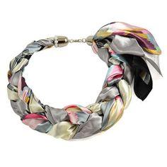 Šátek-náhrdelník Florina 299flo009-71.02 - barevný - Bijoux Me! 💍 Originální česká bižuterie a šperky. Eshop i kamenná prodejna v Praze ✓