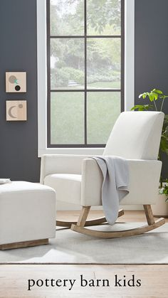 Sit comfortably in your nursery with the Phoenix Rocker. Not only is it stylish, but also non-toxic to ensure only the healthiest for you and your baby.