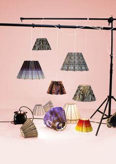 illustrated lampshades - &BROS.