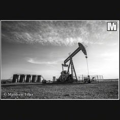 Oil boom in Central Wyoming.