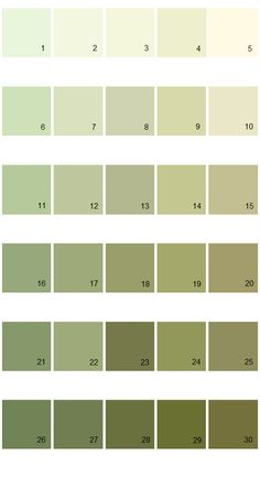Pratt And Lambert Calibrated House Paint Colors Palette 09