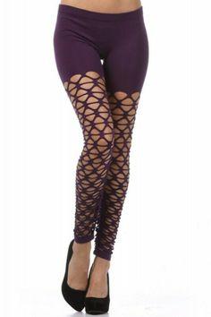 5af40d65aa2ad Crochet Leggings 80s Leggings Sexy Leggings Purple Net Leggings #fashion  #clothing #shoes #accessories #womensclothing #leggings (ebay link)