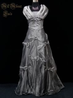 Victorian Theme  MOONLIGHT  16/18 Dress FAERIE MASQUERADE/Handfasting/Pageant
