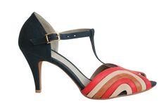 Carmella Blue Heels from Roni Kantor