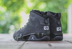 """Anthracite"" Air Jordan 9 Retro - EU Kicks: Sneaker Magazine"