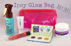 Ipsy Glam Bag - July 2013
