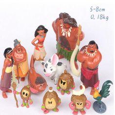 Barato 12 Pçs/set Moana Waialiki Maui Heihei Aventura Princesa Toy Coleção Figuras de Ação PVC Dolls Presente Das Crianças, Compro Qualidade Figuras de ação & Toy diretamente de fornecedores da China: Material: PVCpeso: Cerca de 0.18 kgTamanho do produto: Cerca de 5-10 cmobjetivo: Coleção, Furnish, Presentepacote: