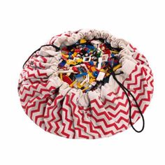 Play&Go Toy Storage Bag: The Play&Go bag is a simple and effective solution to toy storage. The two in one toy storage bag doubles as a play mat and has a red zig zag design. Its portable, hard wearing design is made from premium full cotton under world-class environmental stewardship standards.