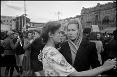 The Noise of Time / TNT: Women Dancing in the Streets of Moscow in 1947 (Through the Lens of Robert Capa and Henri Cartier-Bresson)