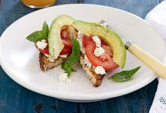 Caprese Toast | 25+ Healthy Breakfast Recipes To Start your Day